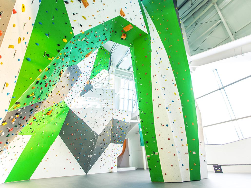 Kletterhalle Mondsee - Indoor