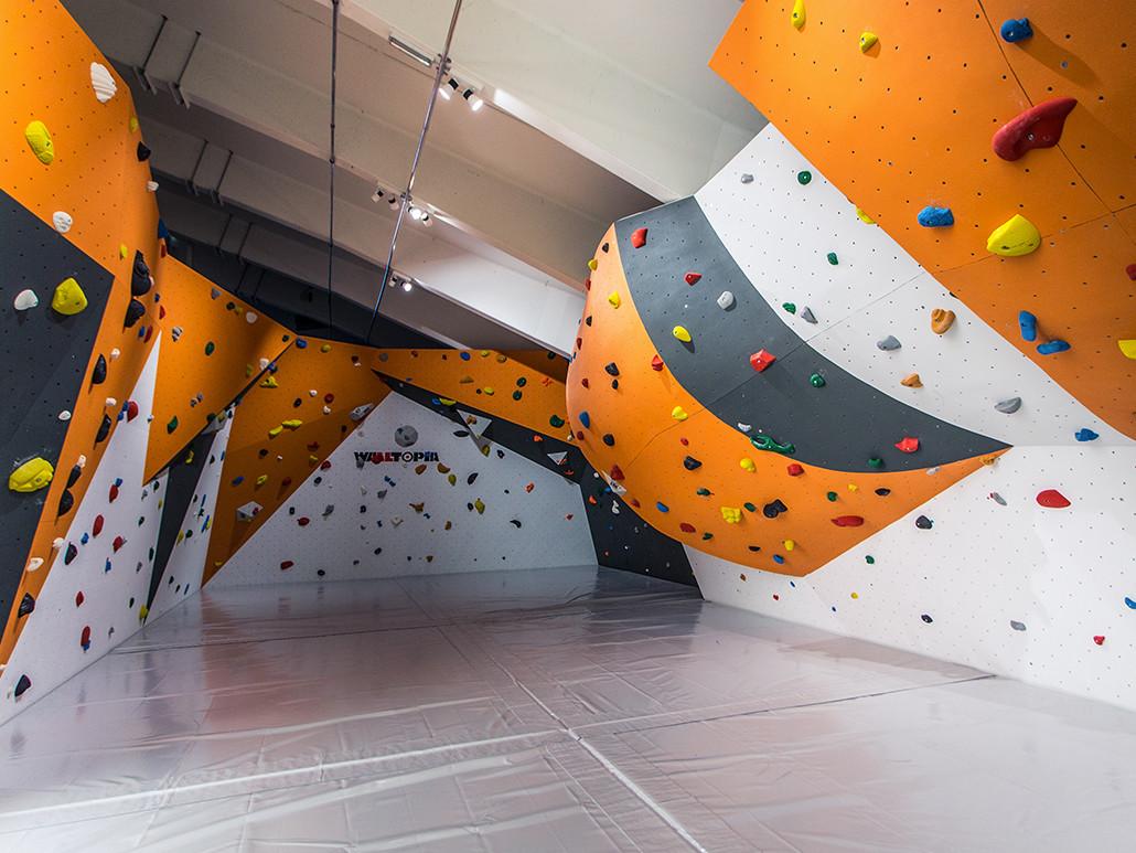 Bouldern in der Kletterhalle Mondsee